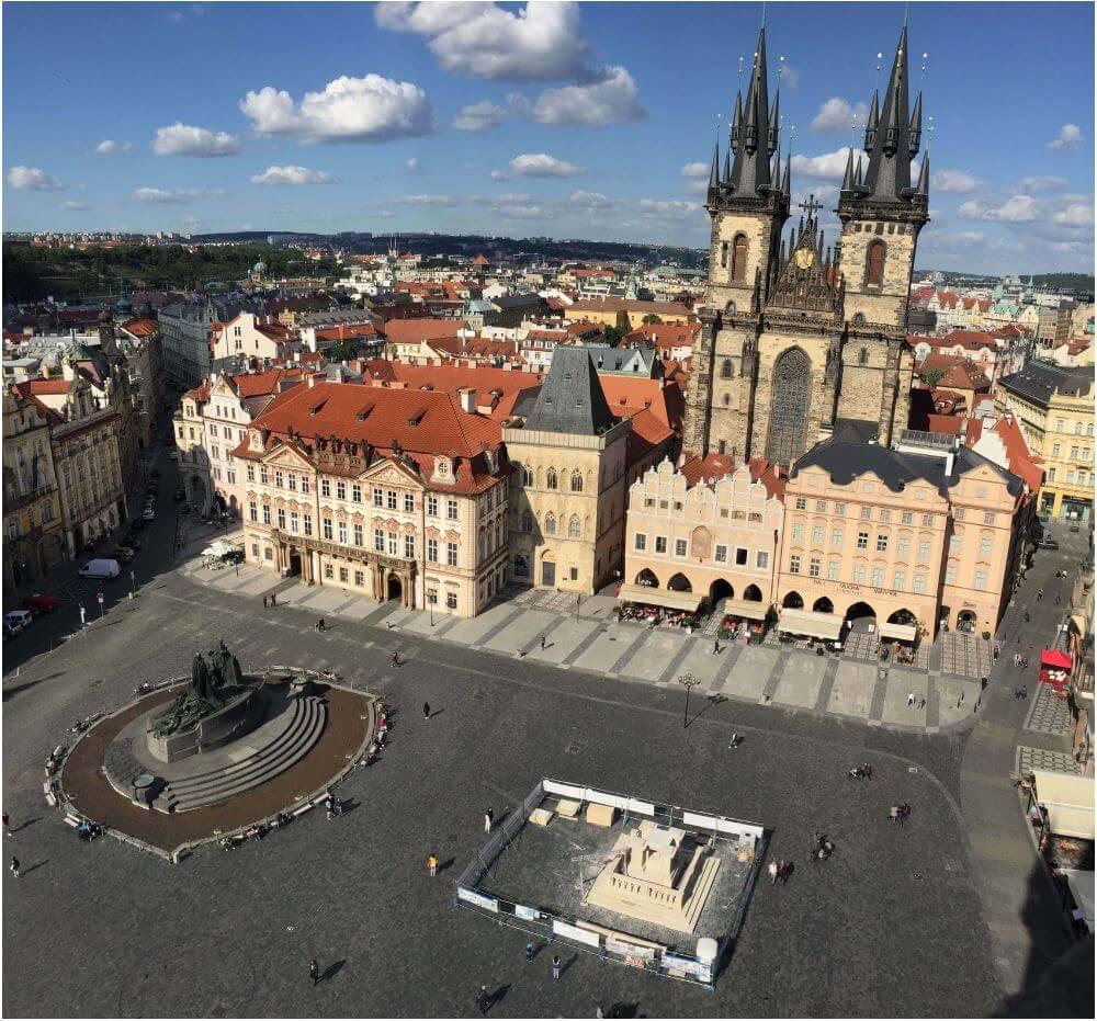 布拉格舊城瑪麗安柱