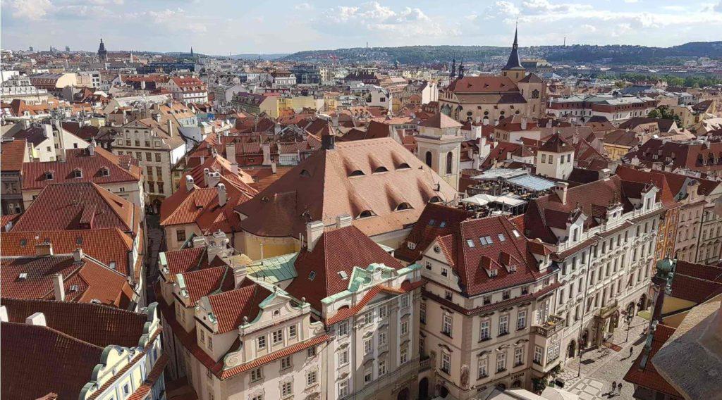 布拉格舊城廣場塔樓