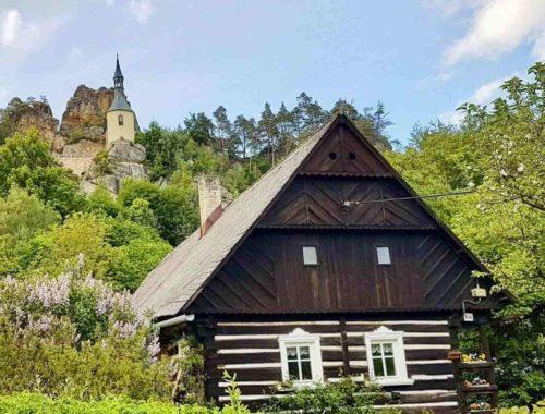 捷克森林小木屋