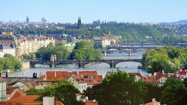 捷克布拉格高堡