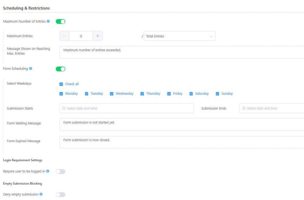 WordPress 外掛 客製化對話式表單